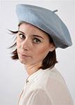 Берет LE BERET FRANCAIS арт. CLASSIQUE (голубой)